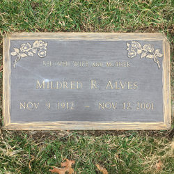 Mildred Taymore Alves (1912 - 2001) Find A Grave Memorial