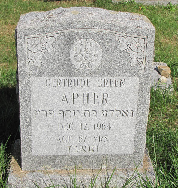 Gertrude Greece Apher (1895 - 1964) Find A Grave Memorial