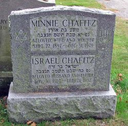 Israel Chafitz (1897-1982) - Find A Grave Memorial