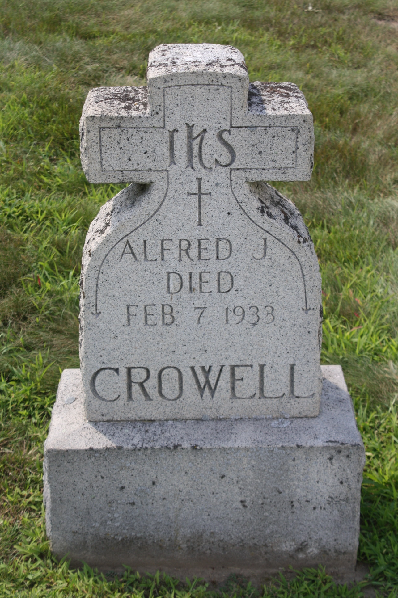Alfred Joseph Crowell (1875 - 1933) Find A Grave Memorial