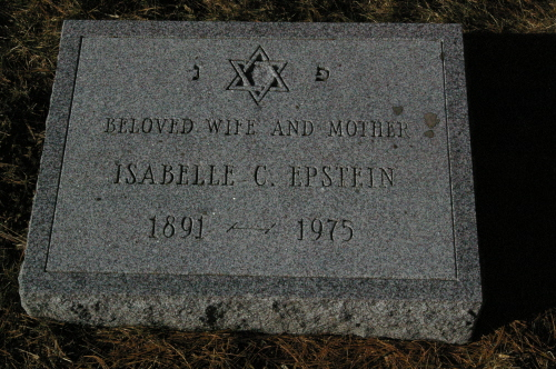 Isabelle Charak Epstein (1891 - 1975) Find A Grave Memorial