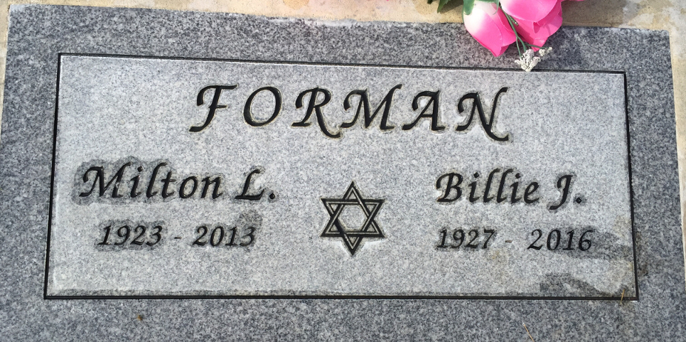 Milton Lawrence Forman (1923 - 2013) Find A Grave Memorial