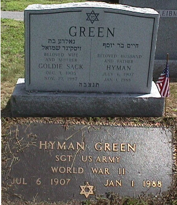 Hyman Greece Green (1907 - 1988) Find A Grave Memorial
