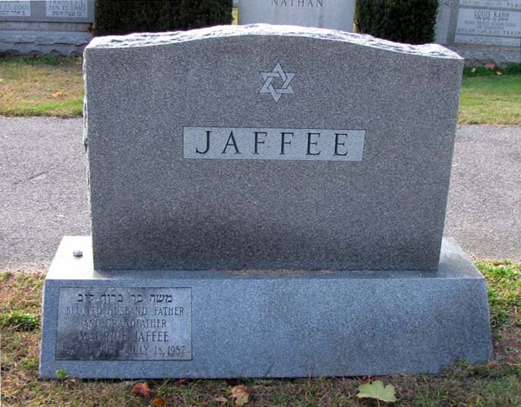 Maurice Jaffee (1903 - 1987) Find A Grave Memorial