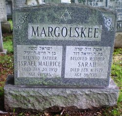 Israel Maurice 'Maurice' Margolskee (1887 - 1959) Find A Grave Memorial