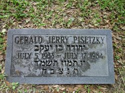 Gerald 'Jerry' Pisetzky (1938 - 1984) Find A Grave Memorial