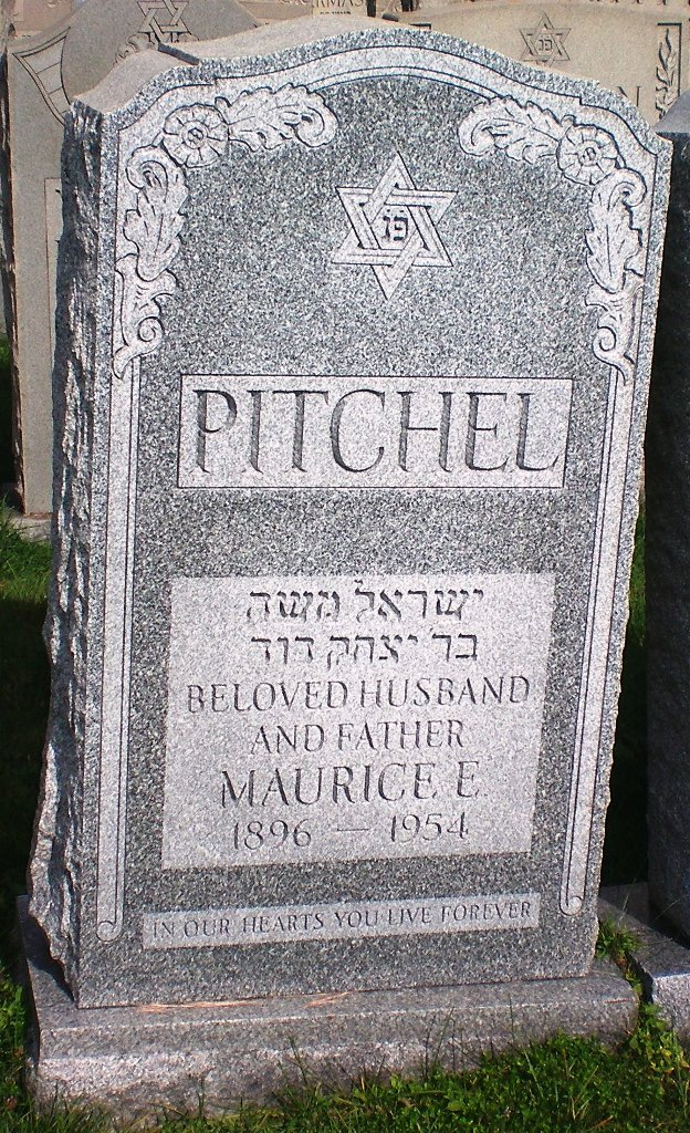 Maurice L. Pitchel (1896 - 1954) Find A Grave Memorial