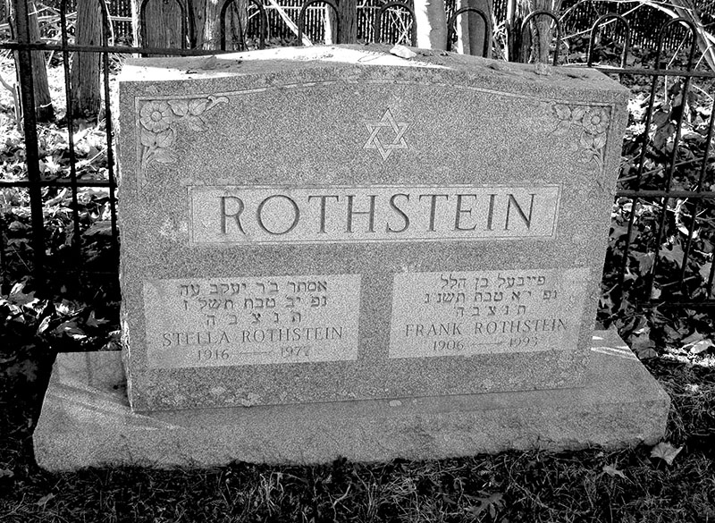 Frank Rothstein (1906 - 1993) Find A Grave Memorial