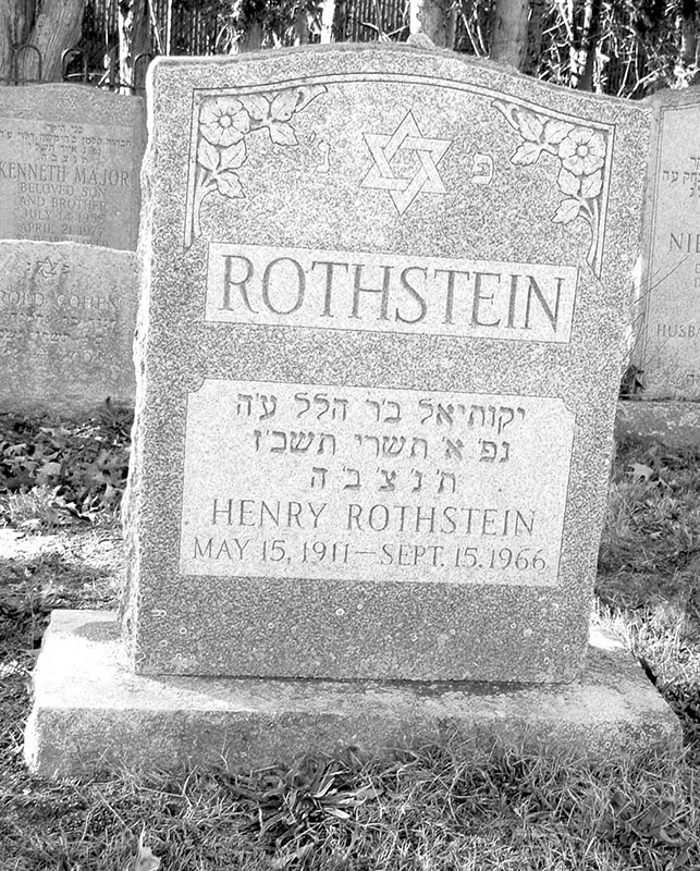 Henry Rothstein (1911 - 1966) Find A Grave Memorial