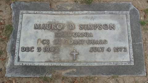 Mauro D Simpson (1902 - 1972) Find A Grave Memorial