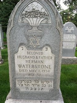 Herman Waterstone ( - 1934) Find A Grave Memorial