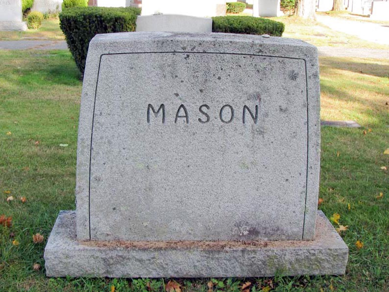 Family Marker of Mason Family